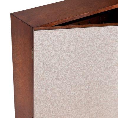 Florence Double-Door Wall Mount Jewelry Cabinet | Wayfair