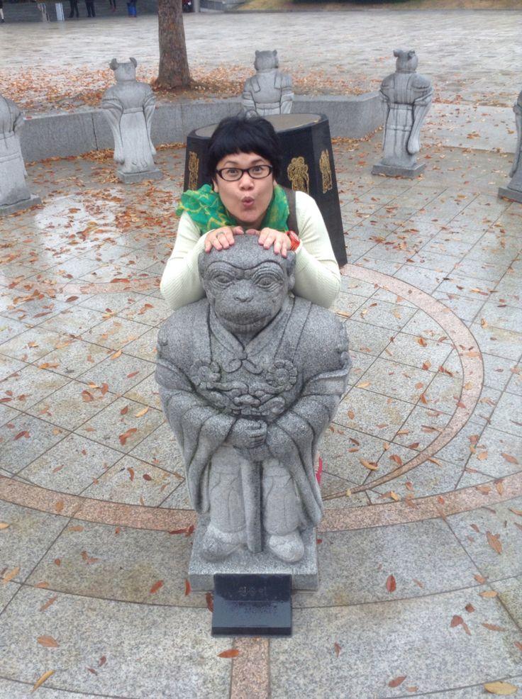 i was born in the year of monkey, mount sorak #KOREA