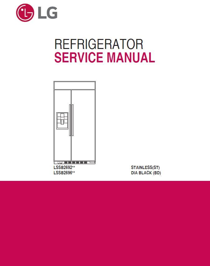 Step right up appliance service manuals.