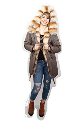 Original military fishtail parka with natural red fox fur inside and outside ▶Inside fur – natural red fox, extremely warm and cosy, little shedding. ▶Real fur trim – red fox (polar fox trim might shed a little, but this is natural quality of the fur). Top quality and style. ▶ ▶MUST H...  More details at https://jackets-lovers.bestselleroutlets.com/ladies-coats-jackets-vests/down-parkas/parkas/product-review-for-military-parka-jacket-red-fox-real-fur-ins