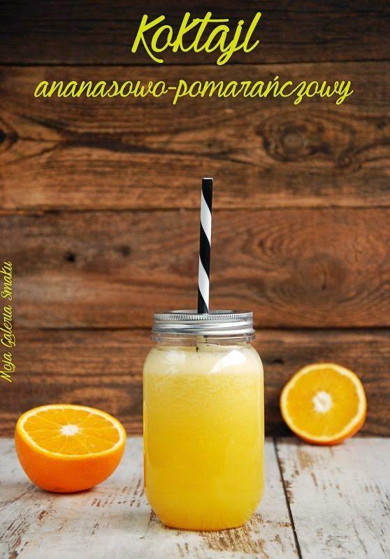 Galeria Smaku: Odchudzający koktajl ananasowo-pomarańczowy