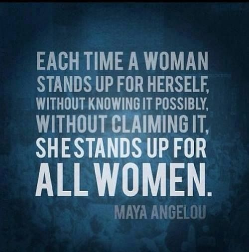 Pinned by Edward CherryMaya Angelou Quotes About Women