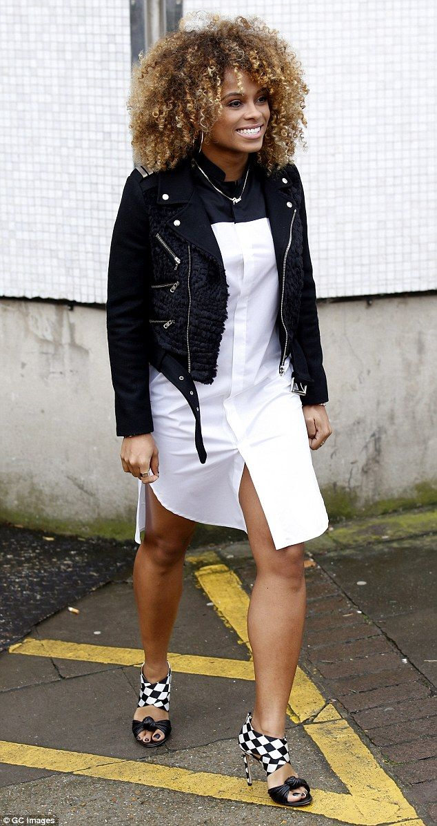 On the rise: Fleur has just been signed to X Factor boss Simon Cowell's record label Syco