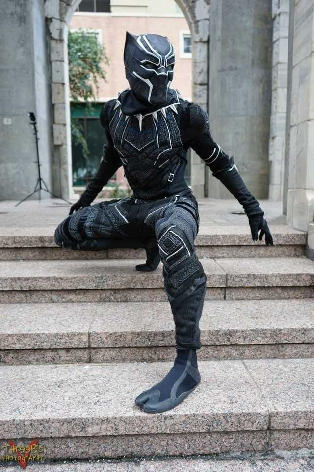 Black Panther Halloween Costumes 2020 TheUltimateChaser Black Panther Cosplay in 2020 | Black panther