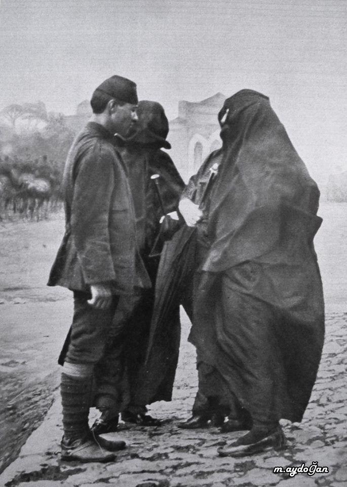 (Osmanlı Askerinin Anneye Vedası, İstanbul'da Seferberlik, Balkan Savaşları, Ekim 1912)