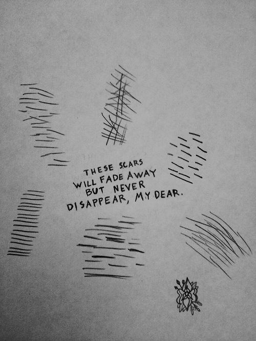 Self Harm Quotes Unique 22 Best Self Harm Drawing Images On Pinterest  Depressing Quotes