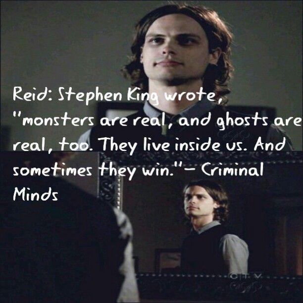 Criminal Minds Zitate Stephen King Zitate Leben Leben