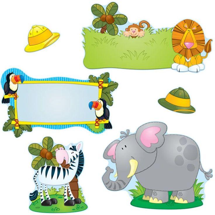 Jungle Safari Bulletin Board Set