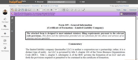 form bc 100 instructions