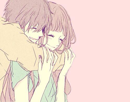 Anime Couple, so kawaii!!