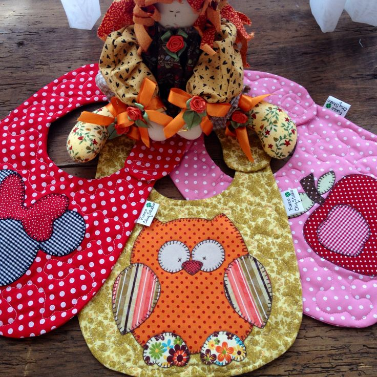 Such adorable baby bibs for inspiration.