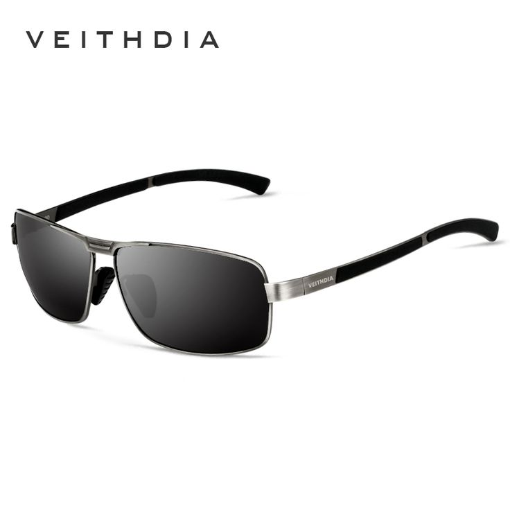 VEITHDIA Brand Men's Sunglasses Polarized Sports Sun Glasses Driving oculos de sol masculino Eyewear Accessories For Men 2490
