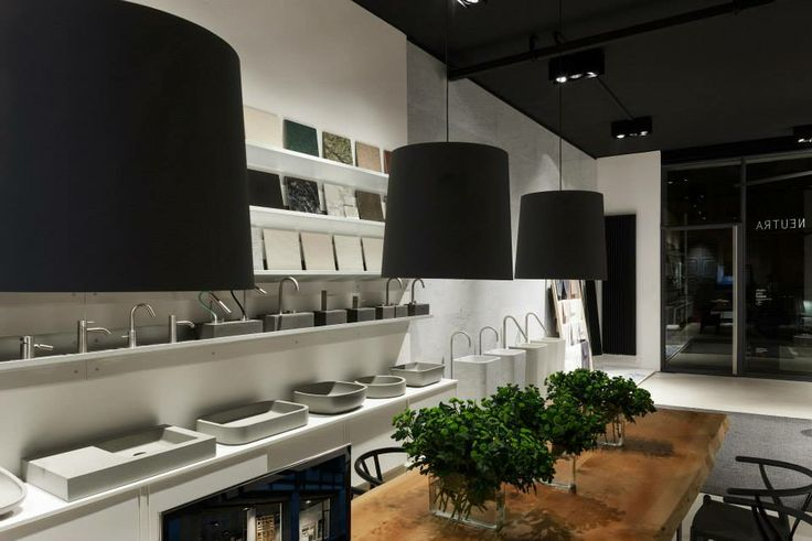 NEUTRA Flagship Store in milan - water_wellness_stone. #bathroom #spa #design #finishes