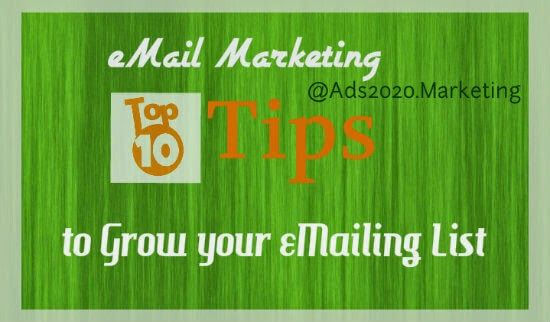 I know you know benefits of #eMail #Marketing BUT the real question is about what are the 10 best ways to increase emailing subscribers!