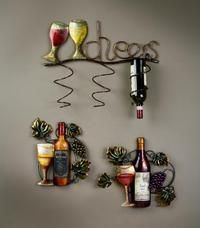 Wine wall decor