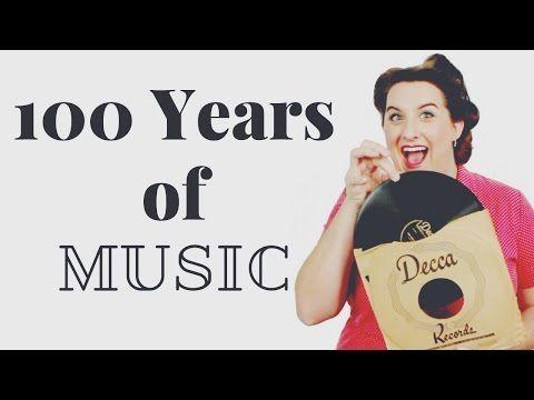 100 YEARS OF MUSIC | 2017 - YouTube