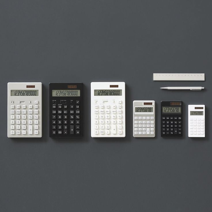 DentakuMUJI Calculator #muji #無印良品 #calculator #電卓 by muji_global