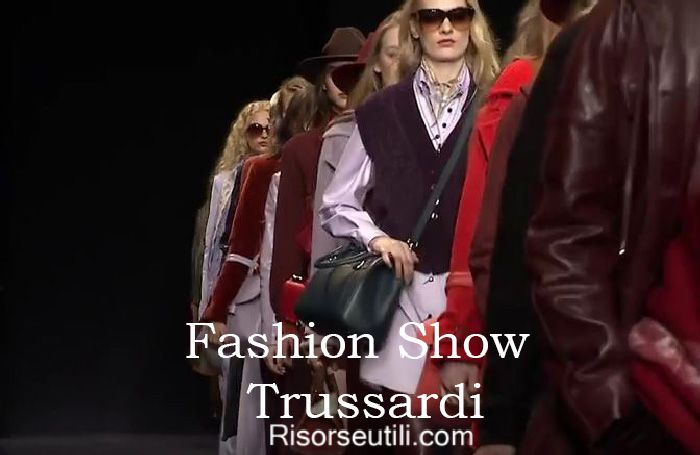 Fashion show Trussardi fall winter 2016 2017 womenswear