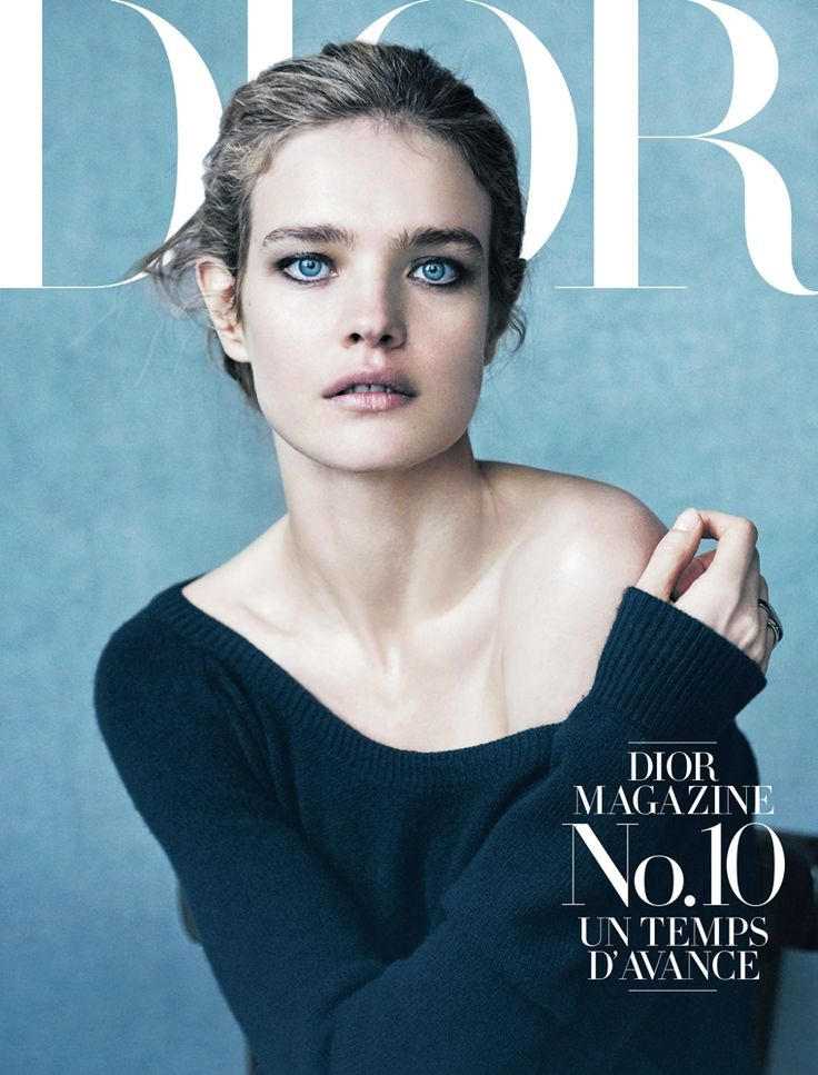 Natalia Vodianova stars on the 10th cover of Dior Magazine