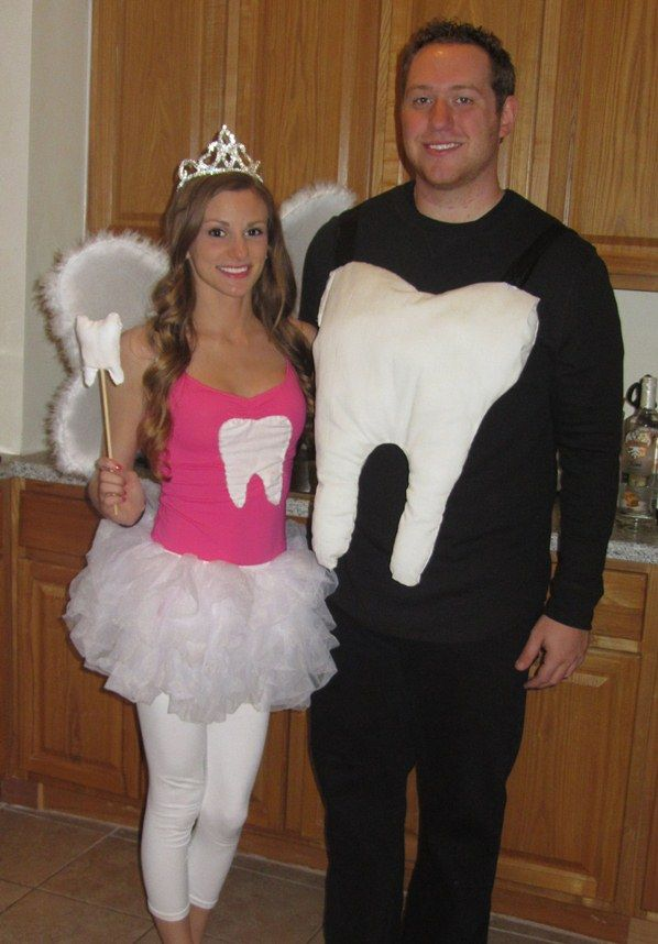 Tooth & Tooth Fairy Halloween Costume |