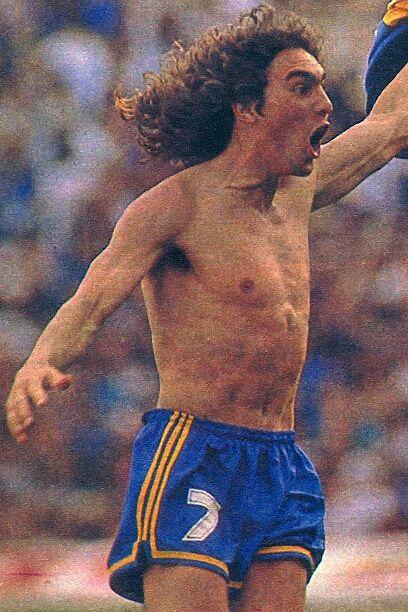 Boca Juniors Campeón Apertura 1992 - Manteca Martinez gol a riBer
