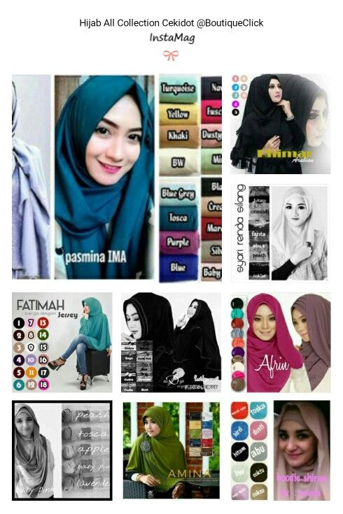 Hijab Collection Store @BoutiqueClick Cekidot!