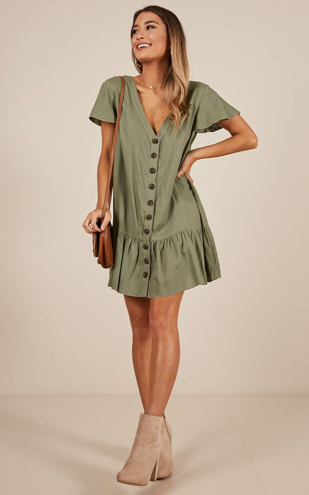 9cfa05b52c81 You'll love the All Or Nothing dress! This gorgeous swing dress features a