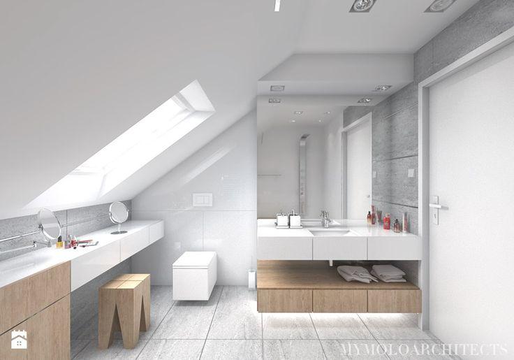 Łazienka styl Nowoczesny Łazienka - zdjęcie od Mymolo Patrycja Dąbek