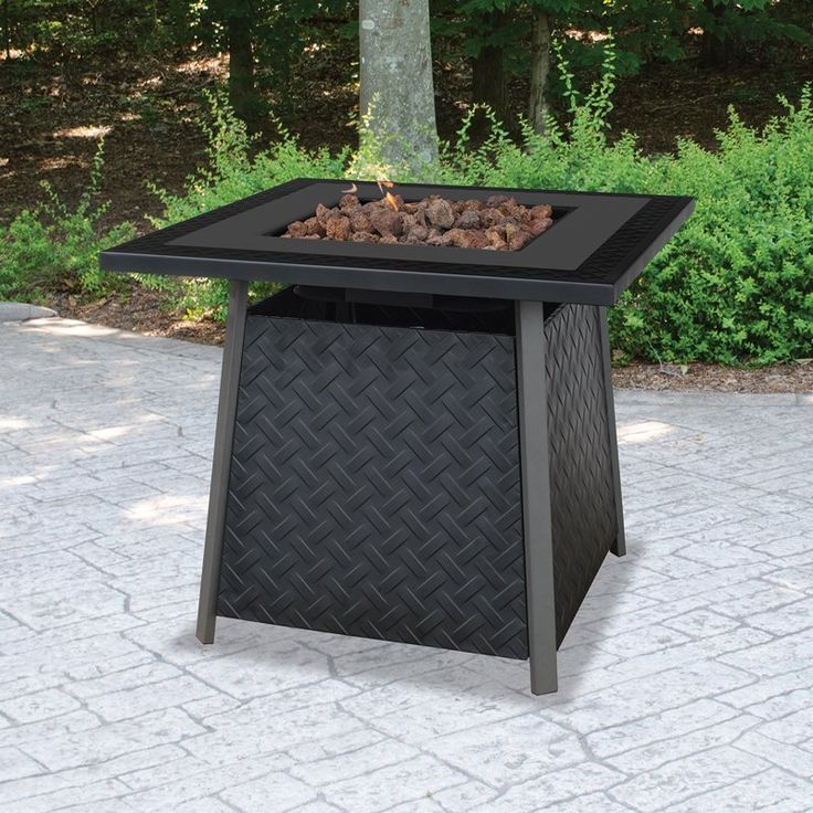 Have to have it. UniFlame Propane Gas Outdoor Fire Pit - $329.99 @hayneedle.com
