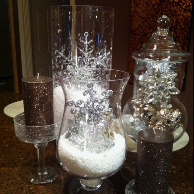 Could Spray Paint Leftover Wedding Rice Silver Glitter