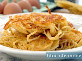 Sicilian fried spaghetti