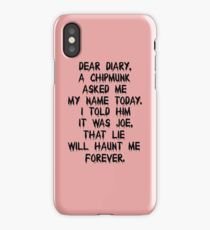 Damon's Quote iPhone Case/Skin