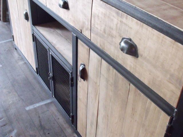 25 best ideas about buffet bois on pinterest meuble for Achat meuble en palette