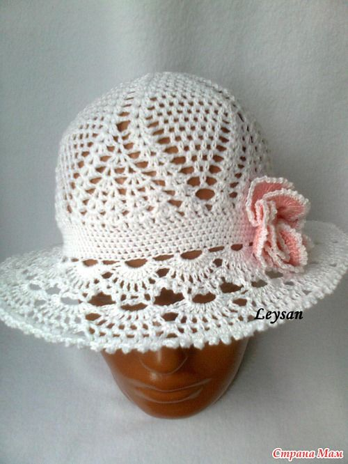 Photo crochet hat tutorial. Web site is Russian. Lots of nice pattern diagrams!