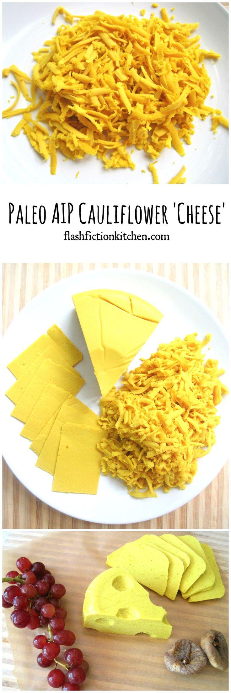 Paleo AIP Cauliflower Cheese from Flash Fiction Kitchen (dairy-free)