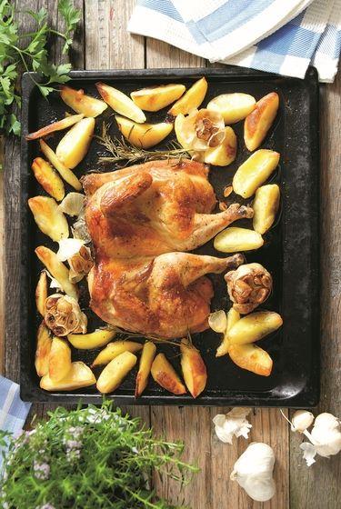 Marinované pečené kura