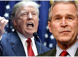 "GW Bush Just Went Nuclear On Trump, Calls Inauguration Speech ""Some Weird Sh*t"""