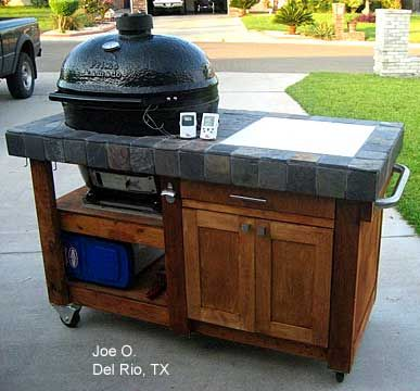 1000 images about grill tables on pinterest cabinets big green egg table and table plans. Black Bedroom Furniture Sets. Home Design Ideas