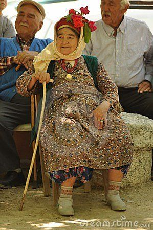 Old Turkish Mans An Woman