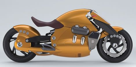Suzuki Biplane concept motorcycle for the Tokyo Motor Show