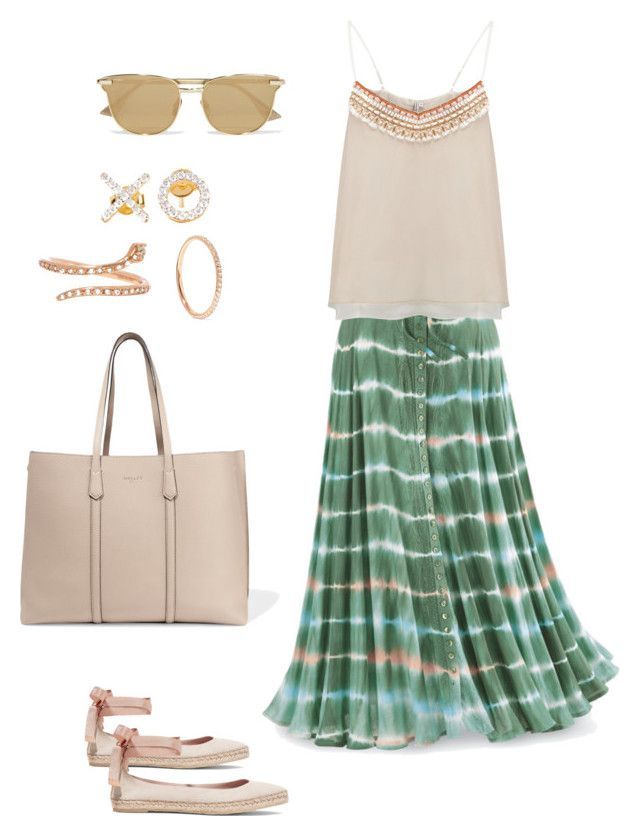 """""""Wednesday's outfit"""" by maellog on Polyvore featuring BLANK, Aamaya by priyanka, AERIN, Mallet & Co, Le Specs, Ileana Makri, outfit, polyvorestyle and polyvoreset"""