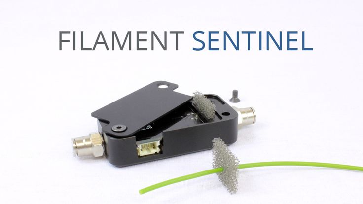 Never miss a 3D print again because of an empty spool or dust on the filament. SENTINEL is your ultimate filament watchdog.