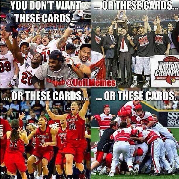 Louisville cardinals best college sports this year