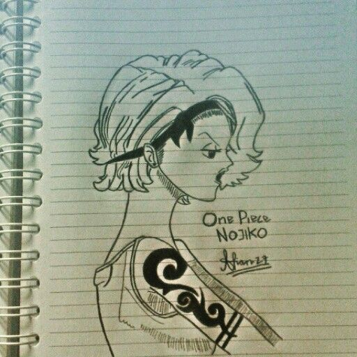 #Anime #OnePiece #Nojiko