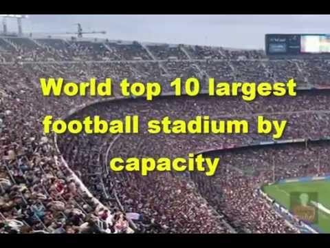 World top 10 largest football stadium by capacity