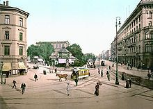 Am Kröpcke, 1895.  Hannover