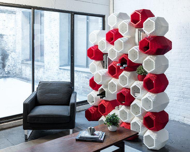 SuperMod: 3D Printed Modular Wall Storage