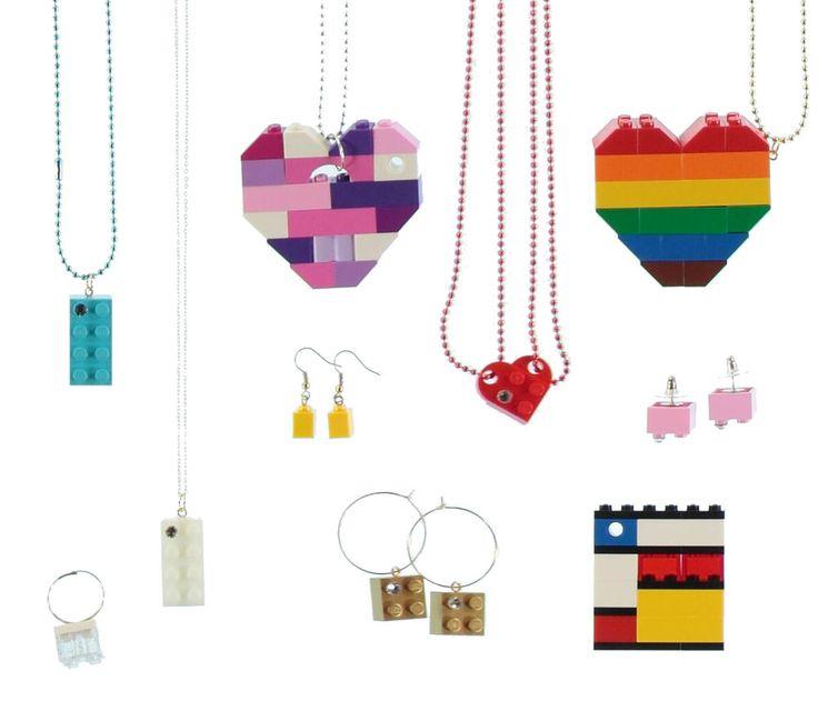 LEGO PARTY FAVOR - LEGO BIRTHDAY PARTY - STOCKING STUFFER - LEGO Jewelry #MademoiselleAlma #LEGO