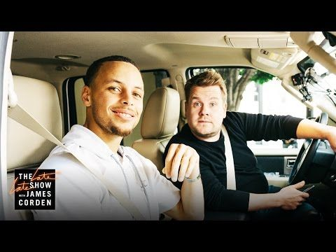 What kind of music does NBA star Steph Curry like to listen to in the car? Disney, of course. Watch one of the best basketball players in the game duet with James Corden in Carpool Karaoke.
