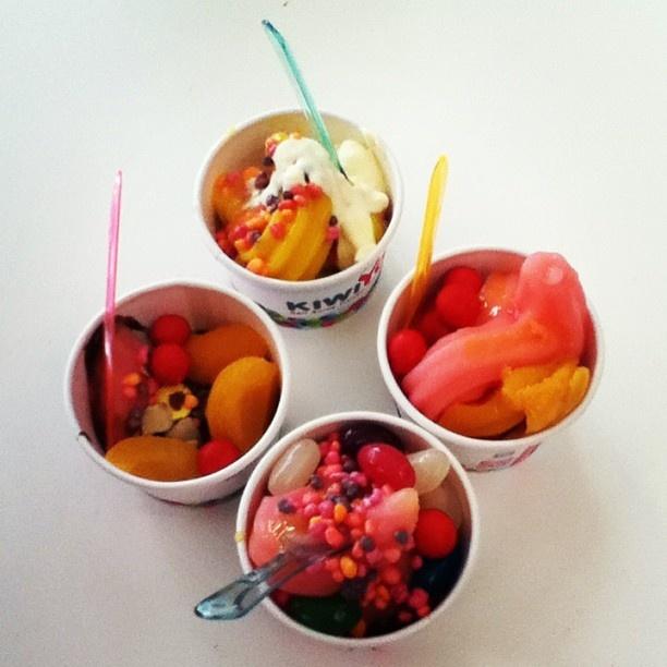 Instagram photo by @omgrania_ ( wanting to be irish) | KiwiYo Self Serve Frozen Yoghurt www.fb.com/kiwiyonz  | www.kiwiyo.co.nz #kiwiyo #froyo